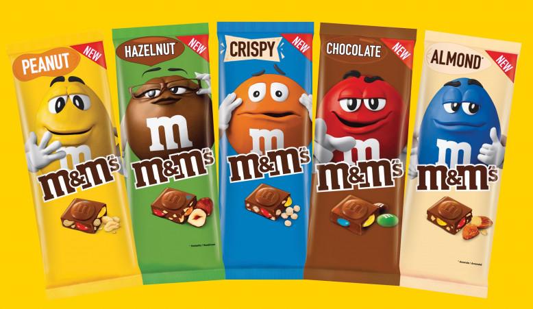 M&M's chocoladetabletten