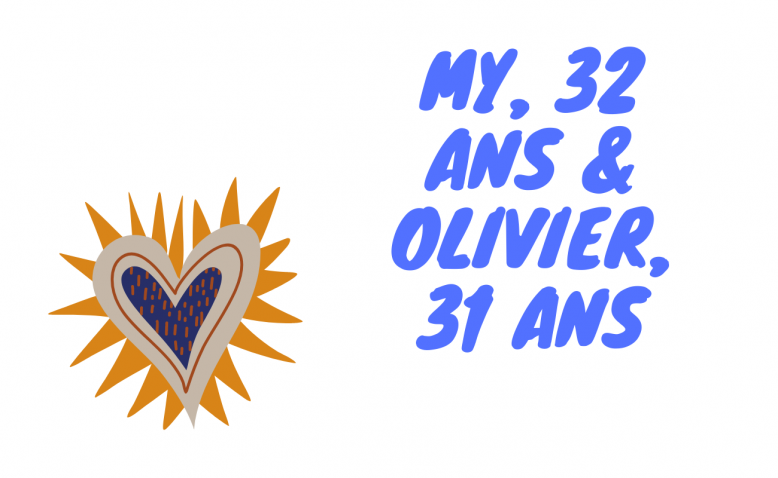 My, 32 ans & Olivier, 31 ans - Couples Mixtes - Montage Flair