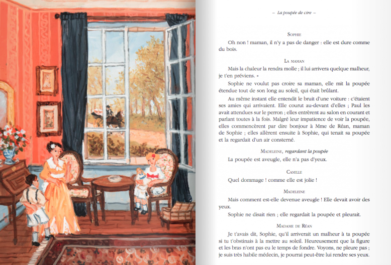 """Hervé Chopin réédite """"Les Malheurs de Sophie"""" - DR"""